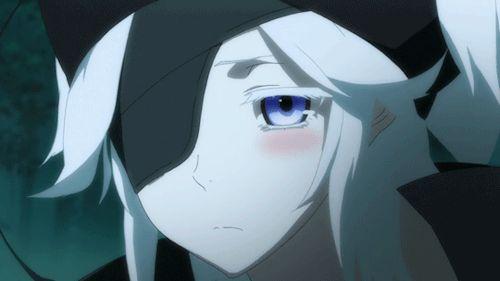 Anime Girl with White Hair, Grey Hair, Silver Hair: Rokka no Yuusha: Fremy Speeddraw