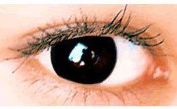 Kontaktlinser med farve - Sorte kontaktlinser