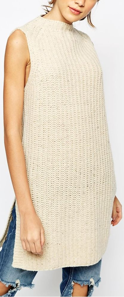 knit tunic sweater