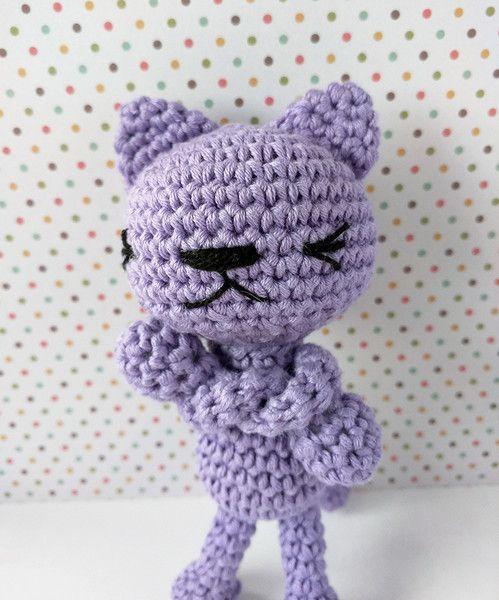 El gato gruñón de Rosebud por DaWanda.com