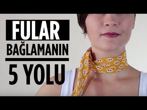 AKSESUARLI EŞARP BAĞLAMA -YEPYENİ MODEL - YouTube
