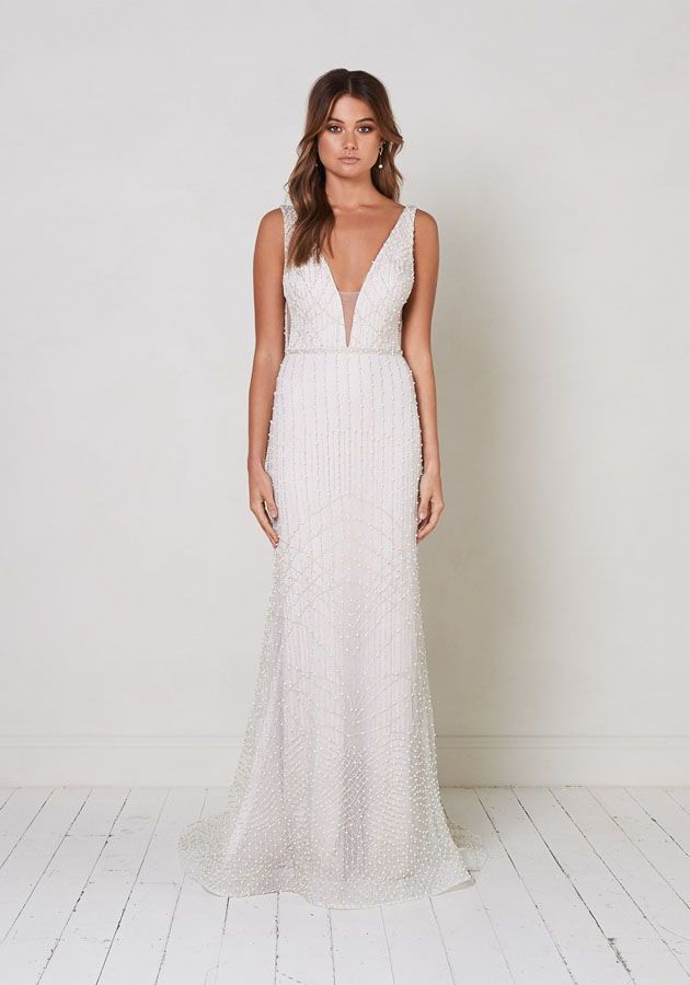 Presley By Jane Hill Modern Romantic Wedding Dresses For The Modern Bride Who Love Most Beautiful Wedding Dresses Fitted Wedding Dress Petite Wedding Dress