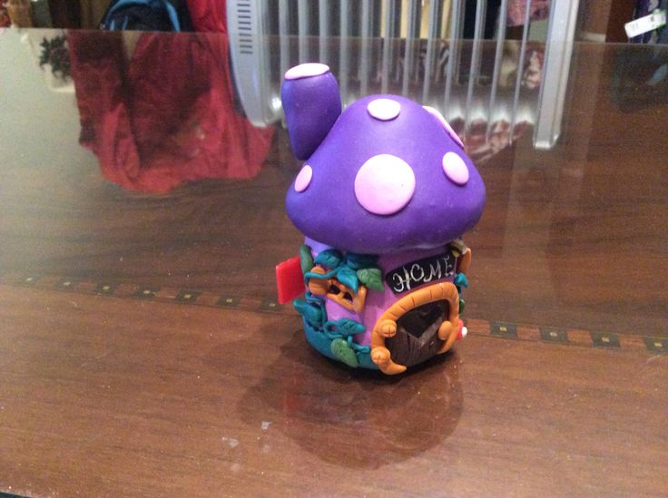 Home jar DIY fimo