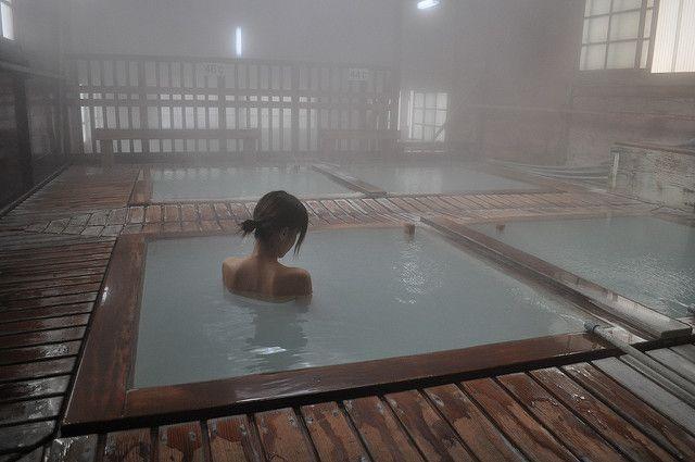 0089-2 那須湯本温泉 共同浴場・鹿の湯