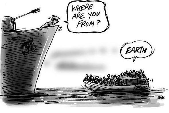 What matters. #RefugeeCrisis