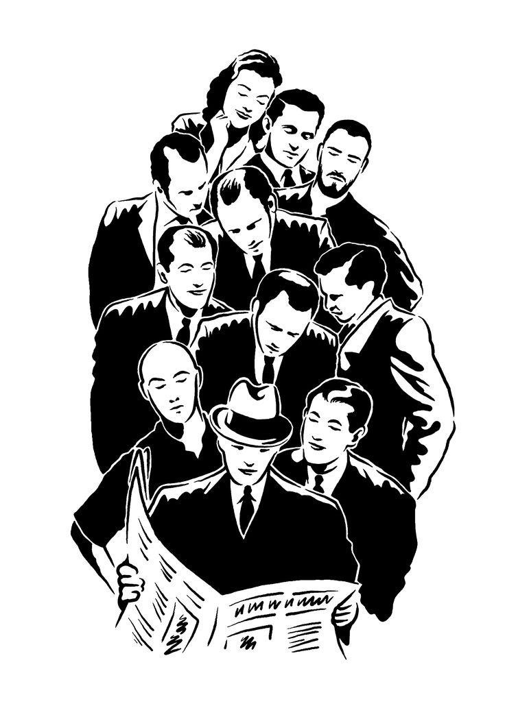 Illustration for newspaper  www.totcph.com