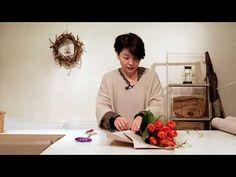 Making Flower BOUQUET DIY Hydrangea bouquet MINI Flower bouquet Букет с гортензией - YouTube