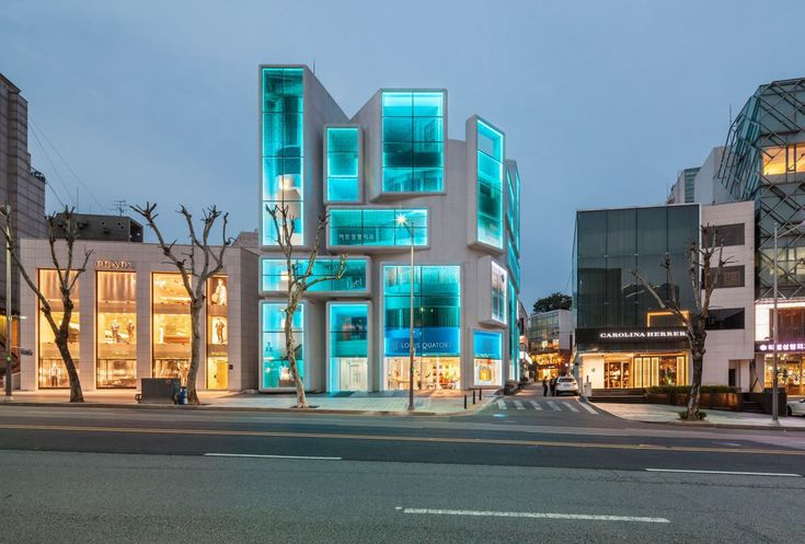 Chungha Commercial Building - Gangnam, Seoul, South Korea