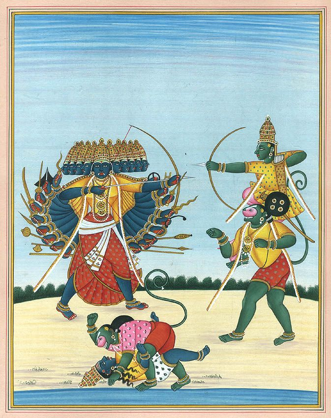 Kailash Raj, Lord Rama Killing Ravana