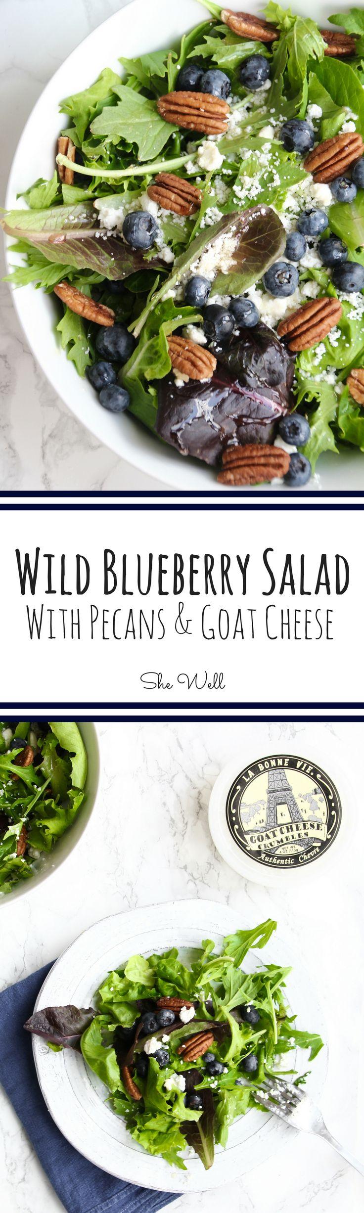Wild Blueberry Salad