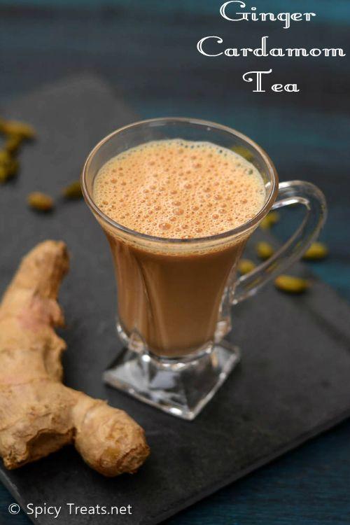 Spicy Treats: Ginger Cardamom Tea Recipe   How To Make Ginger Cardamom Tea   Inji Yelakai Tea Recipe