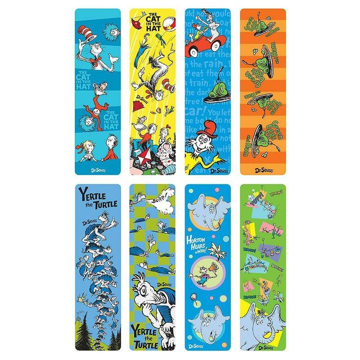 dr seuss bookmark designs preschool ideas pinterest