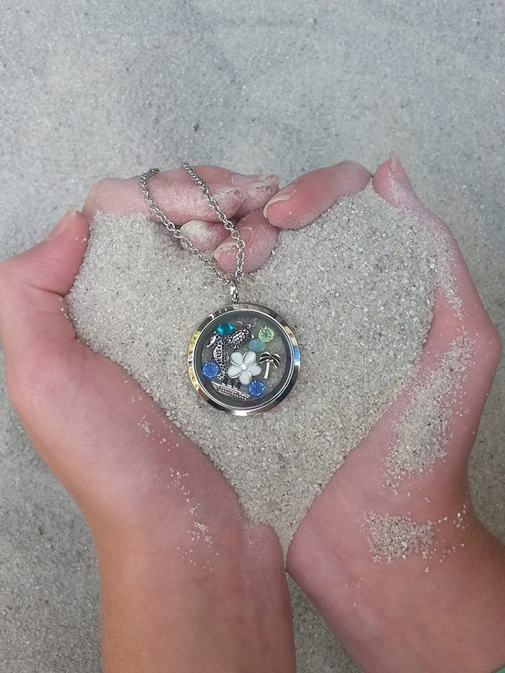 South Hill Designs ~ Summer Dreams...carribean, your story, your Locket. www.southhilldesigns.com