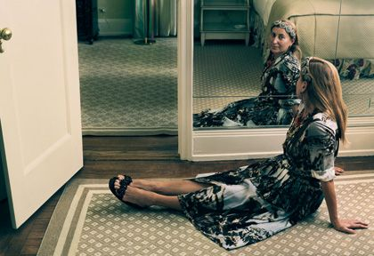 Muiccia Prada: Photograph by Annie Leibovitz. Published in Vogue, August 2004