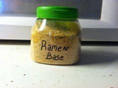 Ingredients for Life: DIY Ramen Soup Bases