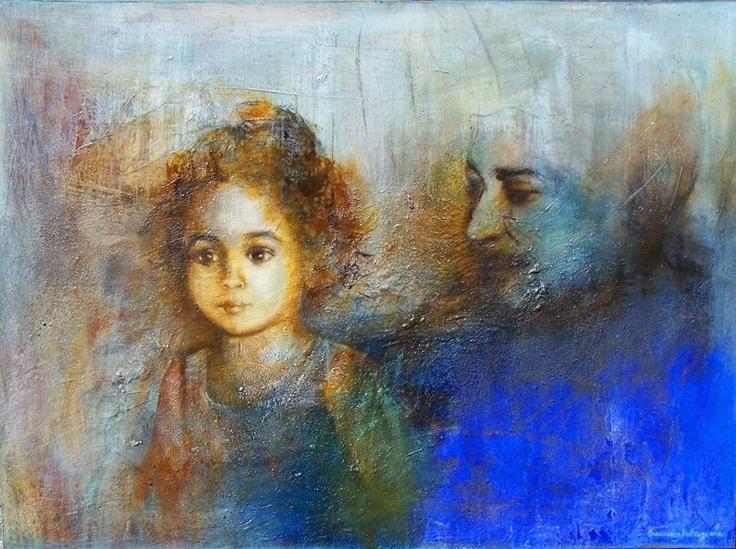 Pintura de Francisca Valenzuela.
