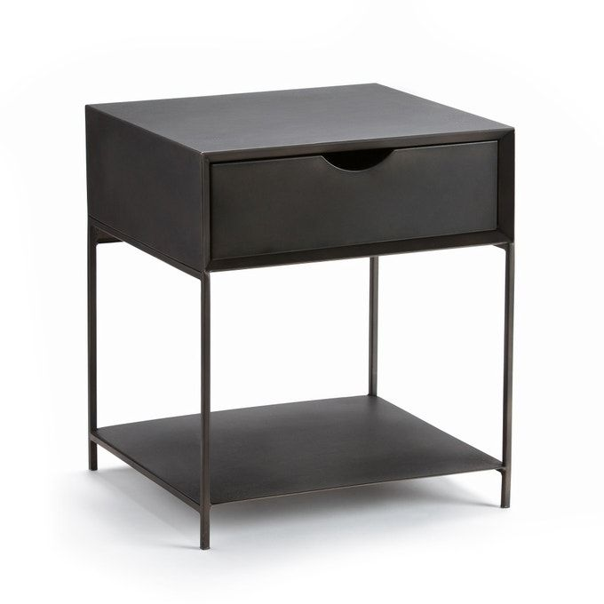 Mambo Metal Bedside Table In 2020 Metal Nightstand Modern