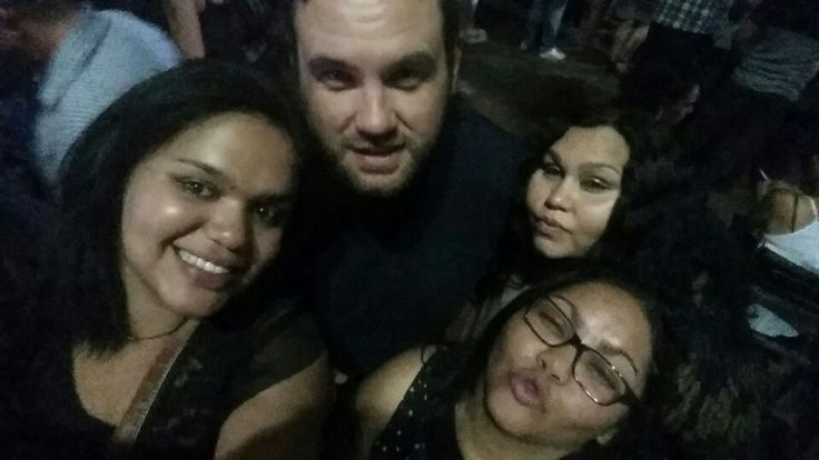 Me an the cousins in Alice Springs