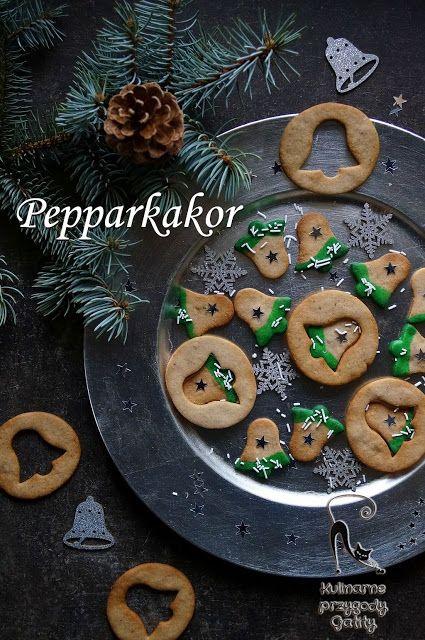 Kulinarne przygody Gatity - przepisy pełne smaku: Pepparkakor, szwedzkie pierniczki imbirowe