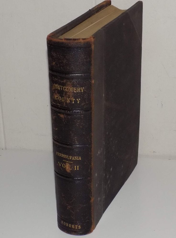Antique 1904 Biographical Annals of Montgomery County Pennsylvania Volume II by OldVintageRetroStore on Etsy