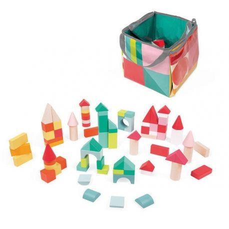 Kubix 80 piezas de construcción