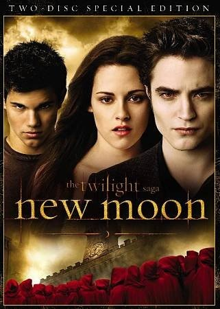 Twilight Saga: New Moon [PN1997.2 .T85 2010] Edward leaves Bella after an attack that nearly claimed her life, and in her depression she falls into yet another paranormal relationship- this time with werewolf Jacob Black. Director:Chris Weitz Writers:Melissa Rosenberg (screenplay), Stephenie Meyer (novel) Stars:Kristen Stewart, Christina Jastrzembska, Robert Pattinson