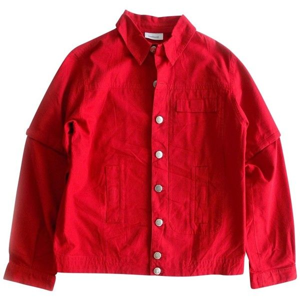 Best 25  Red denim jacket ideas on Pinterest | Long denim jacket ...