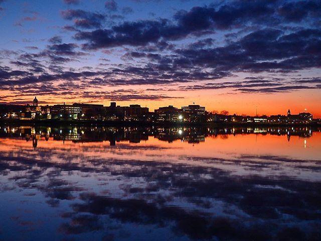 Fredericton at its most beautiful | photo by @chenessa/Instagram #explorenb . . . #fredericton #newbrunswick #nouveaubrunswick #explorecanada #canada