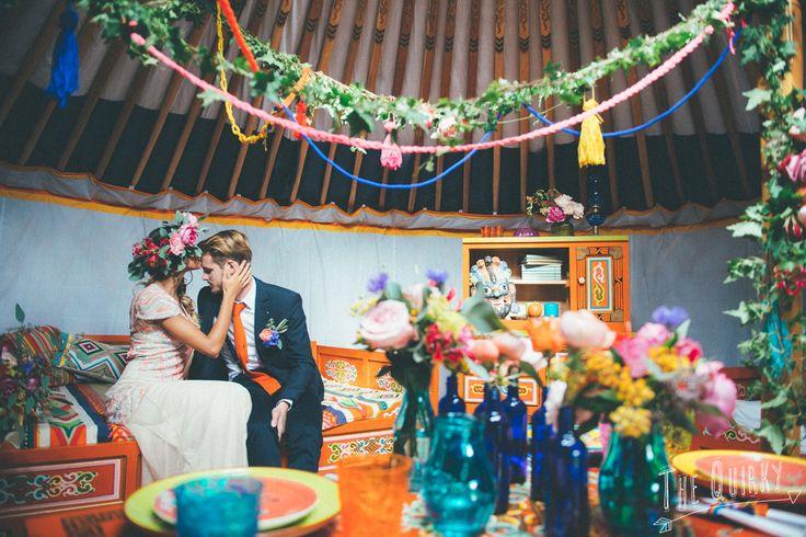 Free your soul - folk inspired wedding photoshoot