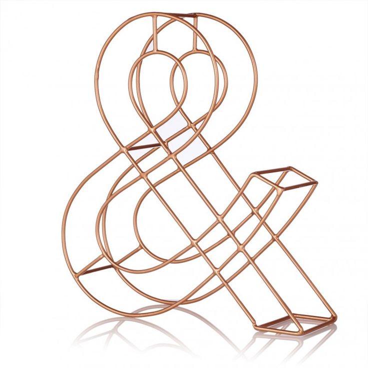 Copper Alphabet Letter | New | Oliver Bonas