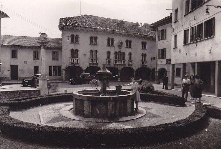Piazzetta Santo Stefano Belluno Dolomiti Veneto Italia