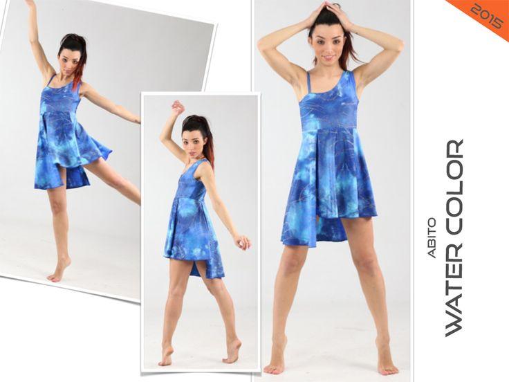 WATER COLOR costume danza saggio