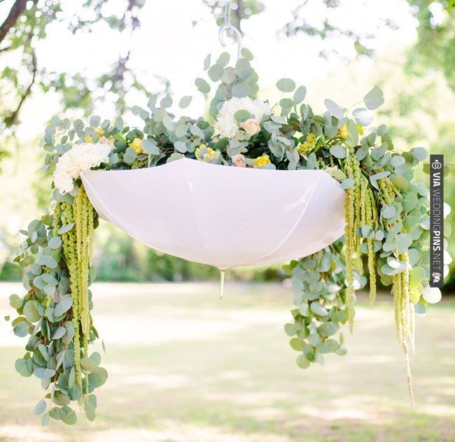April Showers Bring May Flowers   Umbrella Decor. This Would Be Cure For A  Bridal Or Baby Shower But Would Also Be Adorable For An April Wedding With  An ...