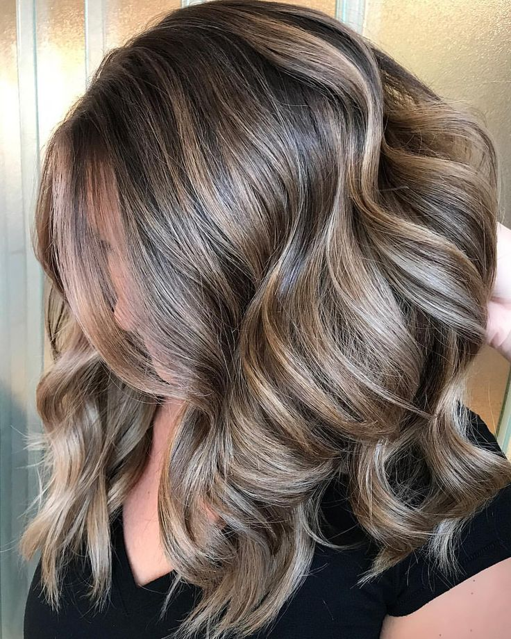 "1,564 Likes, 27 Comments - Glen Mills,PA Balayage Artist (@stephanie_stylist) on Instagram: ""I can picture this gorgeous chocolate dream hair with a red chunky sweater, ripped jeans & a pair…"""