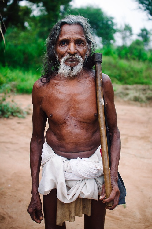A Vedda elder pauses for a portrait.  #portrait #travel #photography #sri lanka