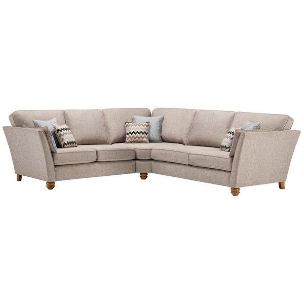 Silver Fabric Sofas Large Corner Sofa Gainsborough Range Oak Furnitureland Large Sofa Sofa Sofa Frame