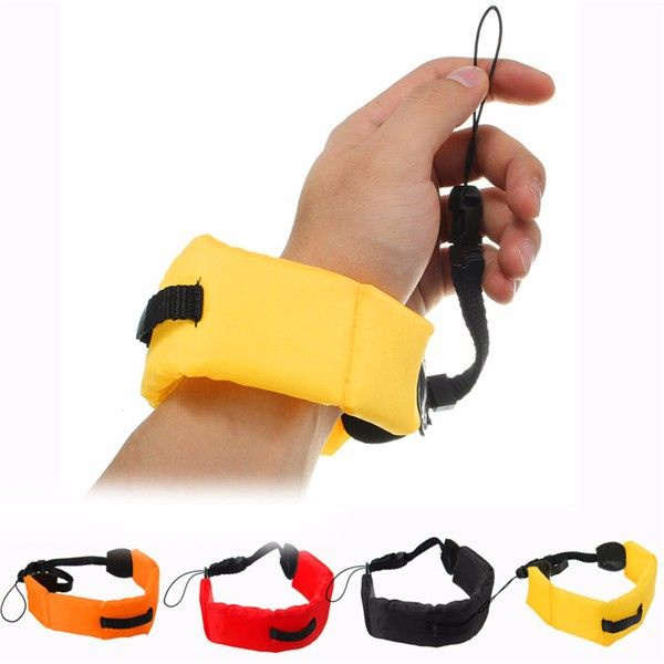 Diving Floating Foam Armband Wrist Strap Waterproof for Gopro Hero 4/3/3/2/1/SJCAM SJ4000 SJ5000 SJ6000 SJ6 SJ7 EKEN H9 H8 Xiaomi yi Sport Action Camera  Feature: 1. To keep your camera safe in the water save your GoPro & waterproof camera from sinking. 2. Made from soft durable material that easily slips onto your wrist and providing a secure stylish solution for carrying your waterproof devices. 3. Comfortable highly visible wrist lanyard - frees up your hands keeps devices afloat and easy…