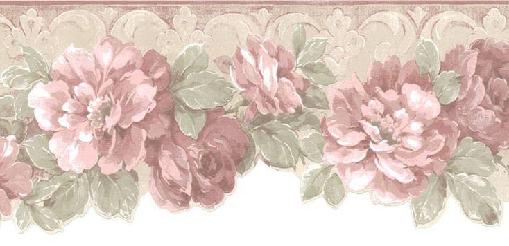 pinterest pink floral borders | Pin Pink Rose Flower Border Meaning Lilzeu Tattoo De on Pinterest