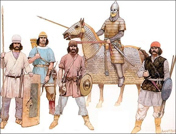 romans and sassanids From the third century the romans also formed units of heavy cavalry of the  oriental  since the sassanian horseman lacked the stirrup, he used a war  saddle.