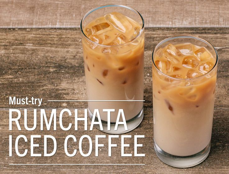 RumChata Iced Coffee. The only question is, why haven't we tried this before?