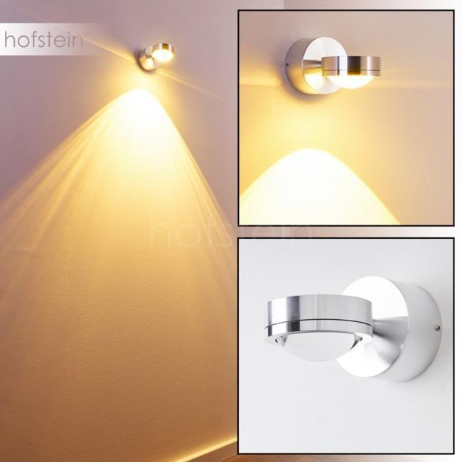 Harare Wandleuchte Zeitgemäße LED-Wandleuchte: Das einfallsreiche Design bringt einen atmosphärischen Lichtkegel an der Wand hervor und sorgt auf diese Weise für ein besonders attraktives Zonenlicht. Mit einem Lichtstrom von 300 Lumen ist dabei ausreichend Helligkeit gegeben. Nur 3 Watt Leistungsaufnahme genügen dieser energieeffizienten LED-Wandleuchte, um die helle und dekorative Beleuchtung hervorzubringen. Das fest eingebaute LED-Leuchtmittel fällt in die Energieklassen A++ bis A und…