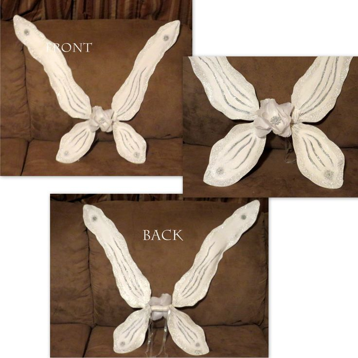 Custom Order White and silver fairy wings for Lind from Ho ho kus, NJ Thanks for your purchase it is greatly appreciated