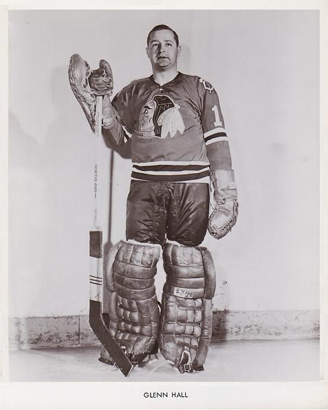 Glenn Hall | Chicago Blackhawks | NHL | Hockey