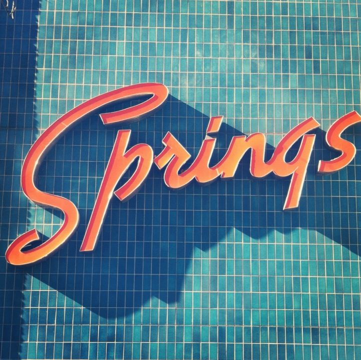 Springs Retro Neon Sign
