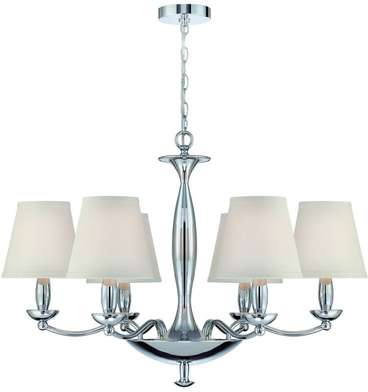 0 03362234w althea 6 light chandelier chrome