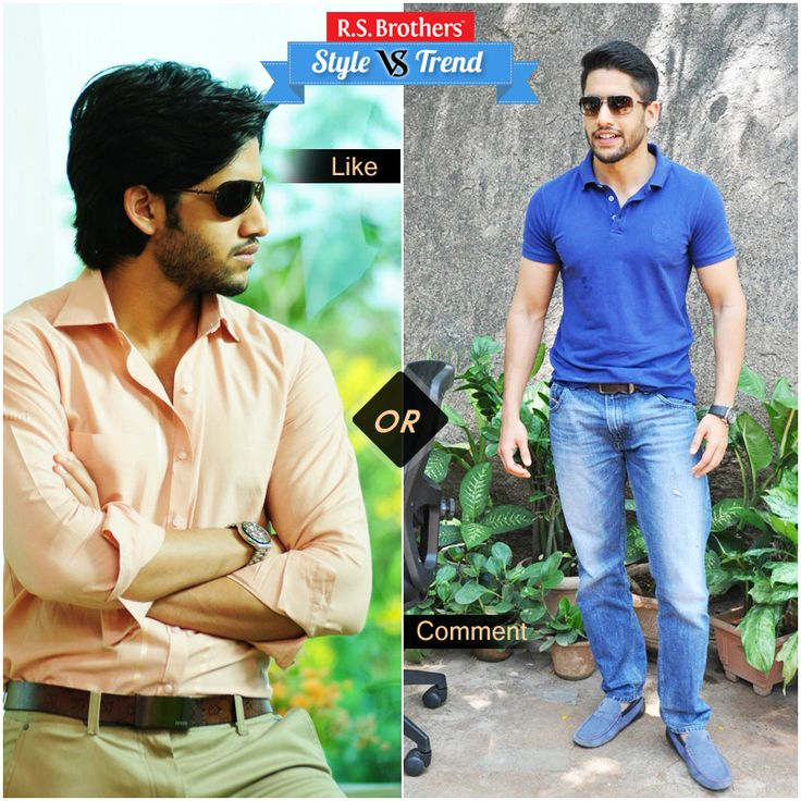 """#Style vs #Trendy! #Handsome South Indian Actor #Nagachaitanya in complete Formals with Stylish Look & in other side with Trendy Casual  Style.  Which Outfit suits him best & looks Awesome? Present your interest in """"Like"""" for Formals or """"Comment"""" for Casuals…. (Image copyrights belong to their respective owners)"""