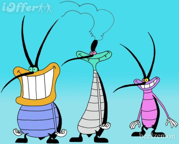 Oggy and the Cockroaches complete Series in HQ