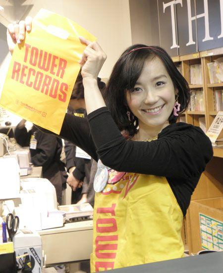 篠原ともえ @タワーレコード渋谷