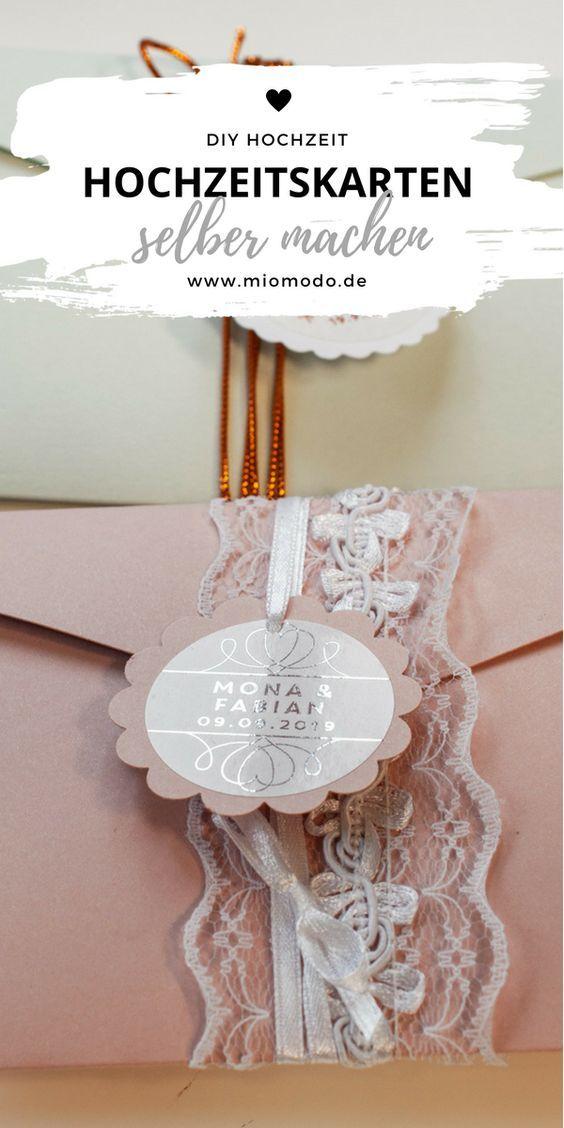Hochzeit In 2019 Hochzeitskarten Basteln Hochzeit Einladung