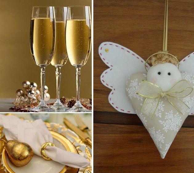 Truques para rápidos para festas de ano novo são mais que bem-vindos! Vamos listar ideias chave que salvam a decor e dão cara festiva à recepção!